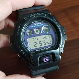 Casio g shock purple black 3230